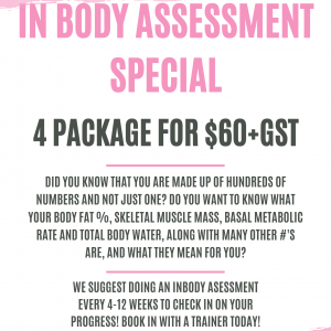 4 Inbody Assessment Package