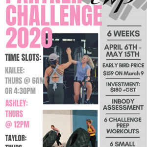 6 Week Program: Partner Challenge 2020