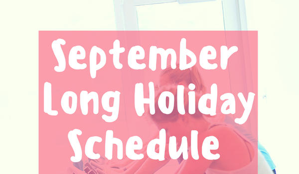 MAY LONG WEEKEND HOURS/SCHEDULE