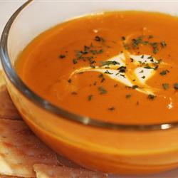 Curried Carrot Soup for Fall!