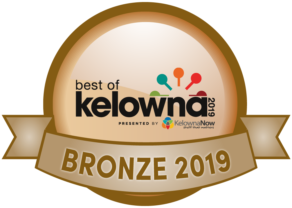 Best of kelowna 2019 bronze
